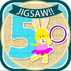 Activities of Learn Number Animals Jigsaw Puzzle Game