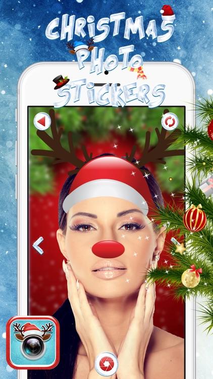 Christmas Photo Stickers screenshot-4
