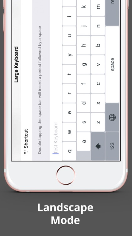 Larger Keyboard – Type Faster w Bigger XL Keys