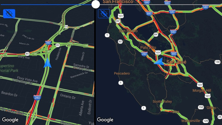 Traffic Maps: realtime info