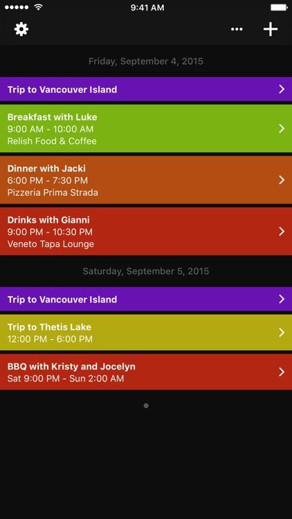 Solar - the calendar app