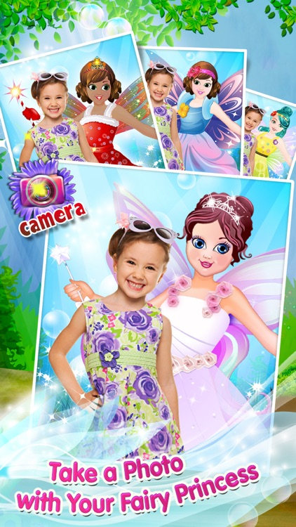 Fairy Princess Fashion: Dress Up, Makeup & Style