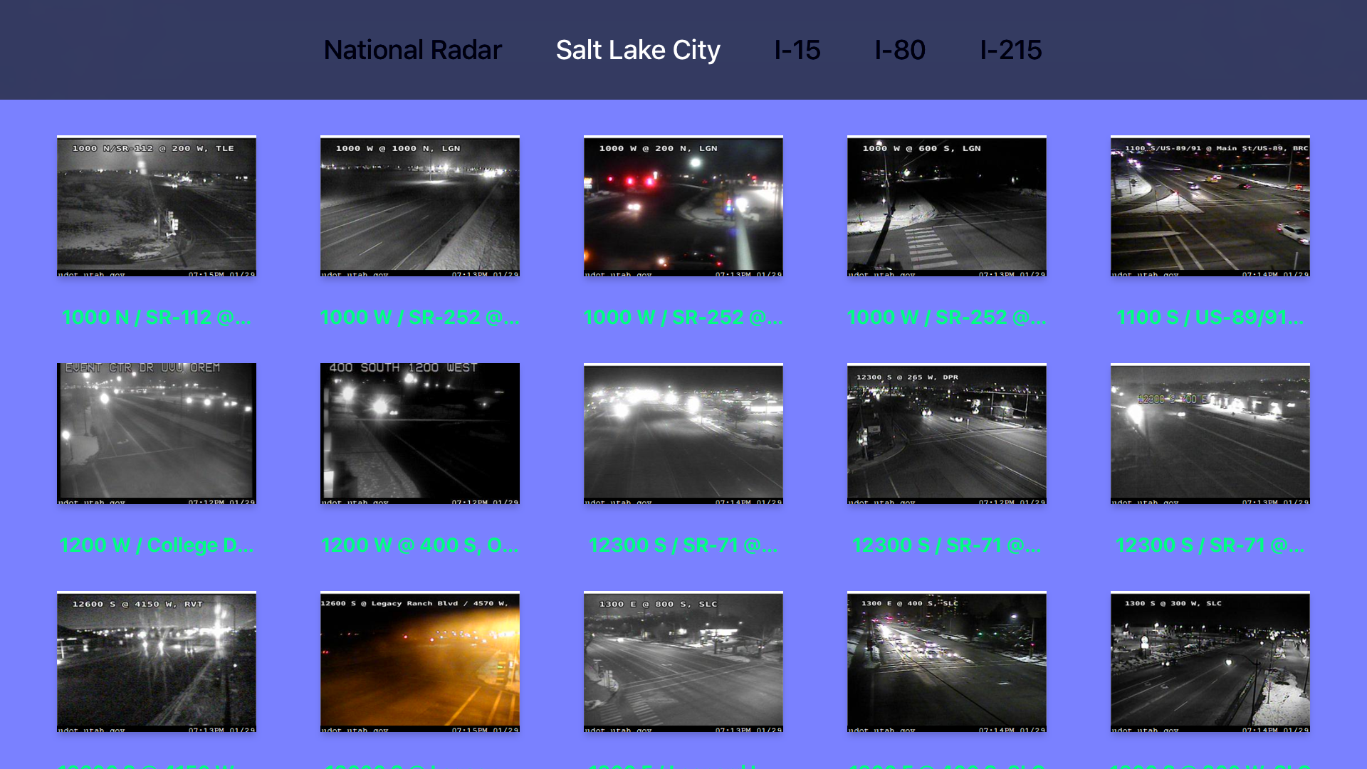 Utah NOAA Radar with Traffic Camera screenshot 9