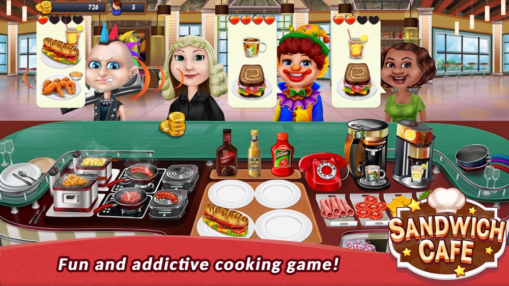 Sandwich Cafe Game – Cook delicious sandwiches! Cheat Codes