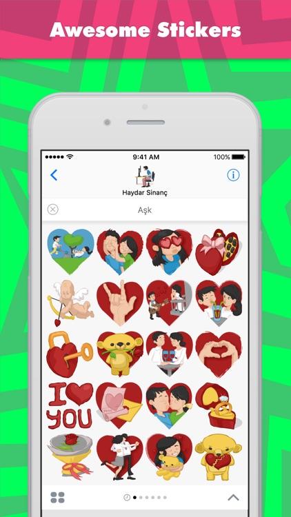 Aşk stickers by Haydar