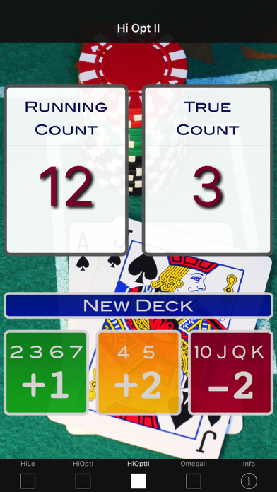A Blackjack Card Counter - Professional screenshot three