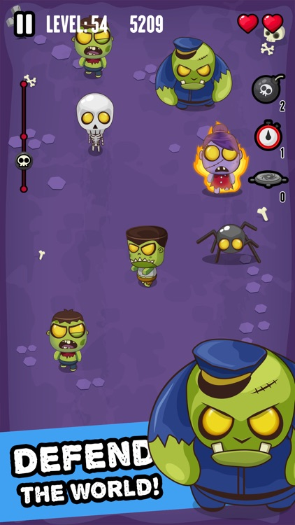 Zombie Invasion - Smash 'em All! screenshot-3