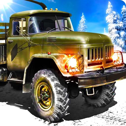 Off Road Army Truck Parking Sim - Snow Driving 3D iOS App
