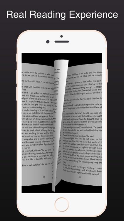 One hand readable 3D PDF reader-Air Reader