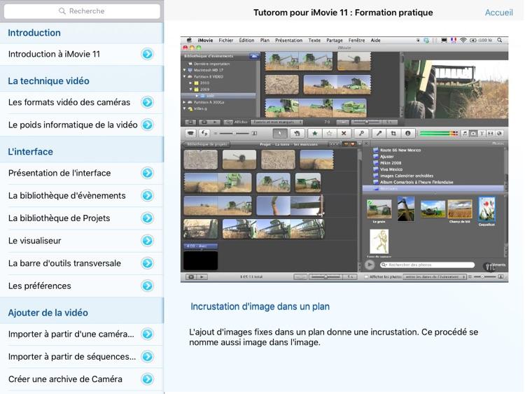 Tutorom pour iMovie '11 - Formation Vidéo