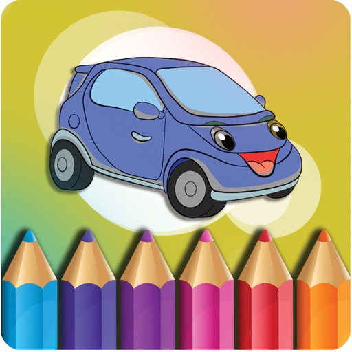 Cars , Coloring book for kids