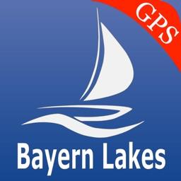 Bavaria lake GPS nautical charts
