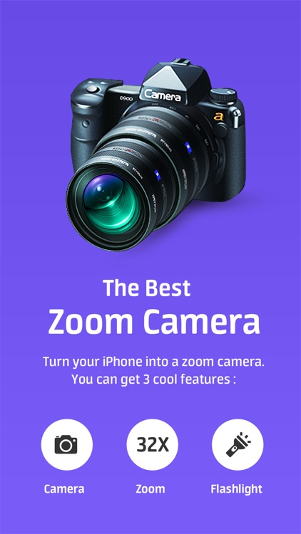 Super Zoom Telephto Camera
