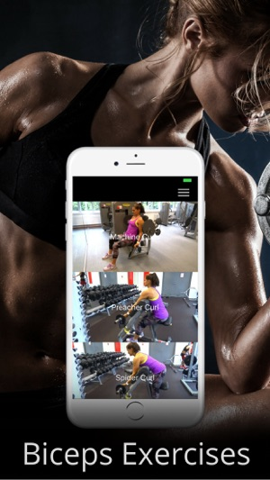 Biceps Exercise Bodybuilding Arm Workout Routine on the App