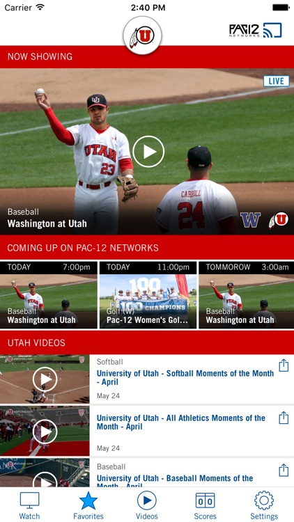 Pac-12 Now screenshot-2