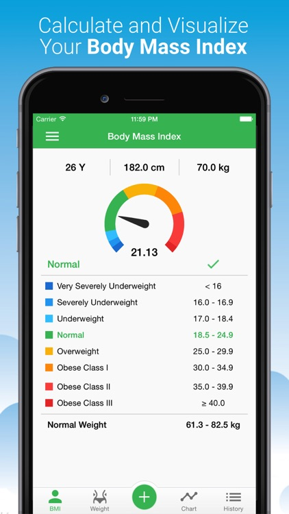 BMI Calculator - Weight Loss Tracker