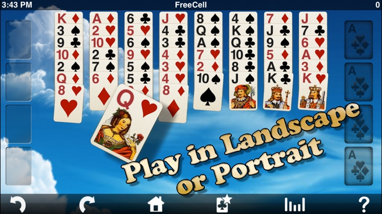 Eric's FreeCell Solitaire Lite screenshot-0