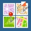 地図の地図 - Maps Gallery - iPhoneアプリ