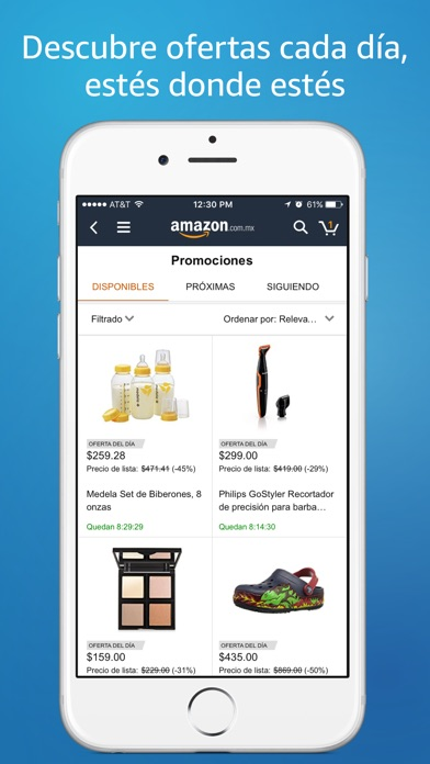 Screenshot for Amazon Compras en Línea in Venezuela App Store