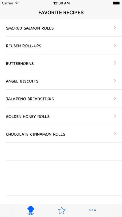 Roll Recipes screenshot-3