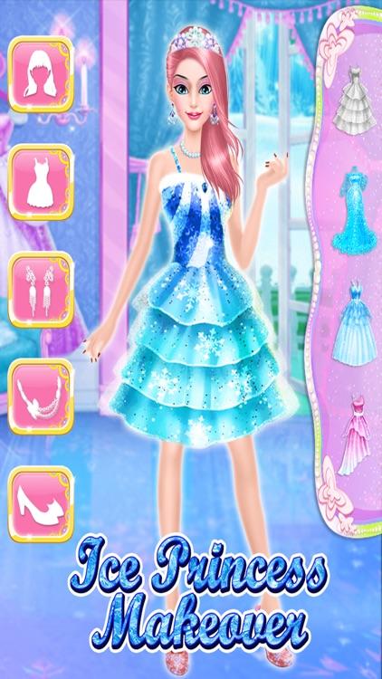 Ice Princess makeup salon : dress-up Parlor screenshot-3