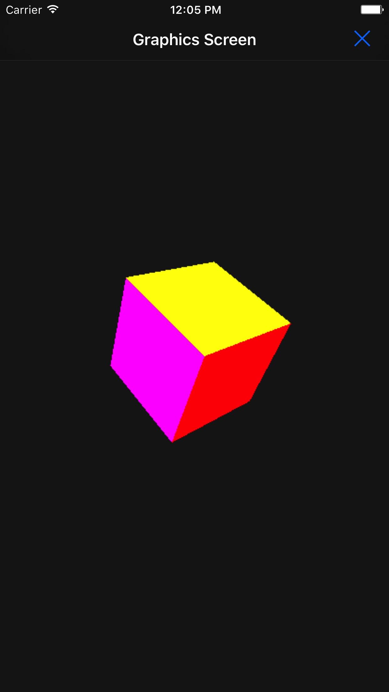 Touch Lua Screenshot
