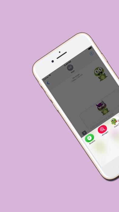 Crazy Frog : Emojis & Stickersのスクリーンショット1