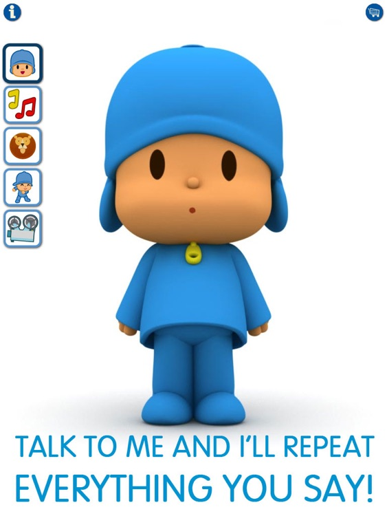 Talking Pocoyo HD Premium screenshot-0