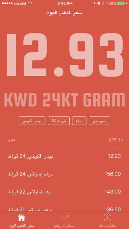 Gold Price in Kuwait أسعار الذهب في الكويت screenshot-3