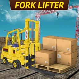 Drive Forklift Transport Driver Sim 3D