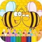 ハチミツと昆虫 フィンガーペインティング icon