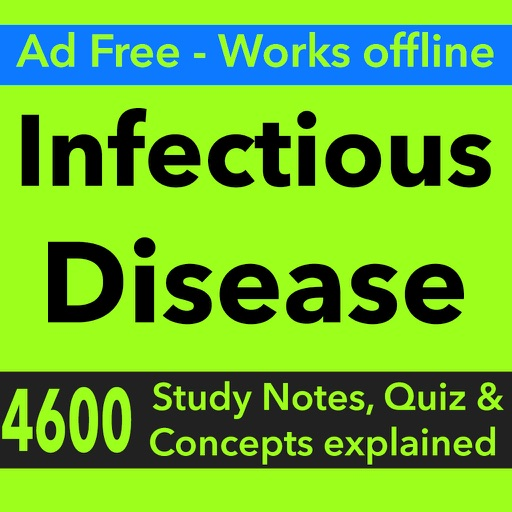 Infectious Disease Exam Review & Test Bank App