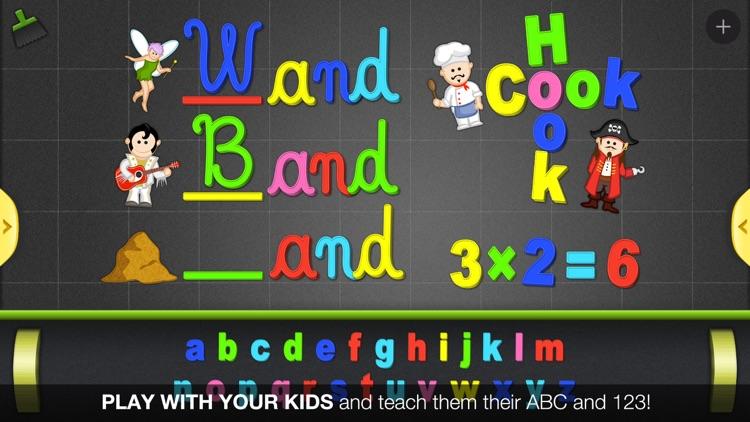 ABC - Magnetic Alphabet for Kids screenshot-0