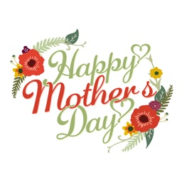 Best Mom in the World - Happy Mothers Day Sticker