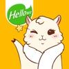 ステッカー,スタンプ,Hellowe Stickers: Lady Alpaca
