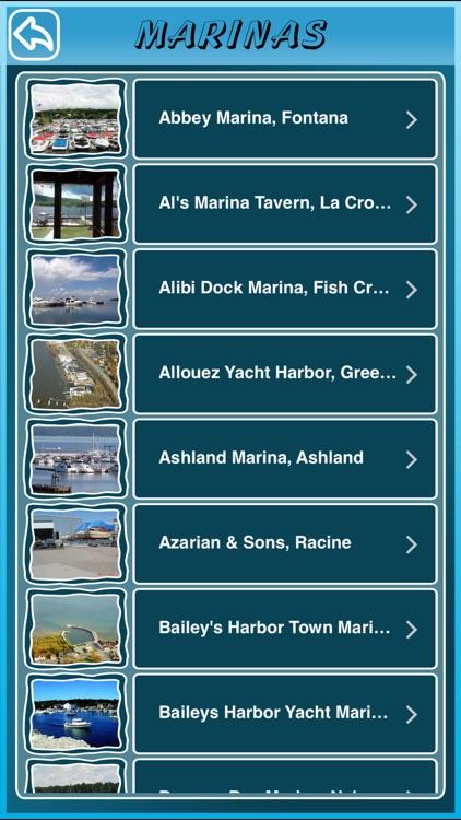 Wisconsin State Marinas