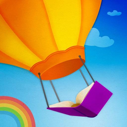 Reading Rainbow Skybrary Family app logo