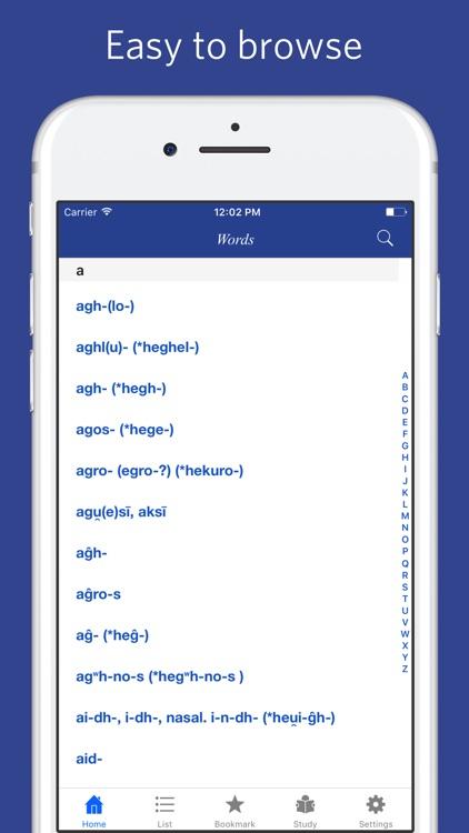 Proto Indo European etymological dictionary