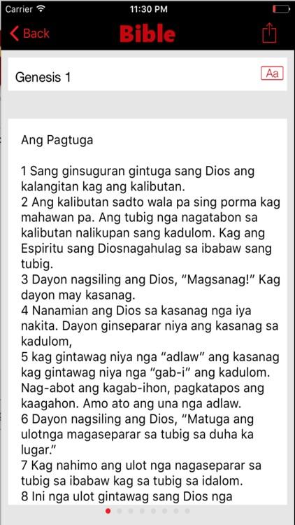 Hiligaynon Bible