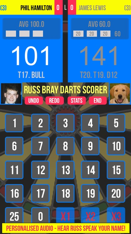 Russ Bray Darts Scorer screenshot-1