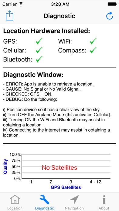 GPS 진단 - 위성 테스트 도구 및 좌표 for Windows