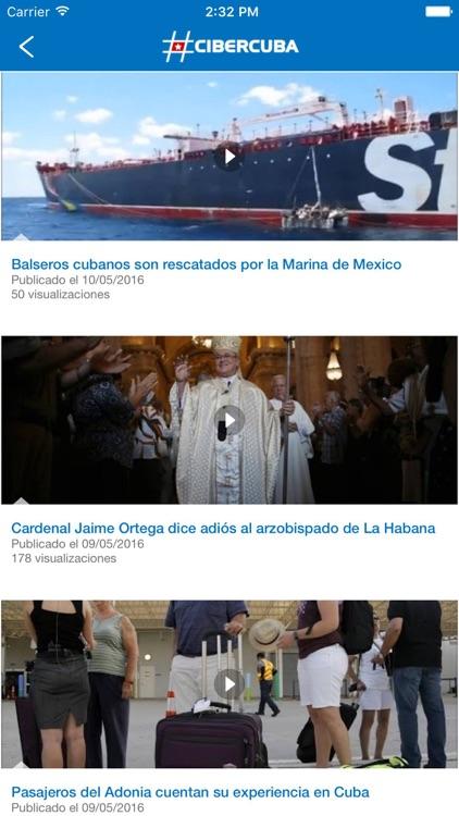 CiberCuba - Noticias de Cuba screenshot-3