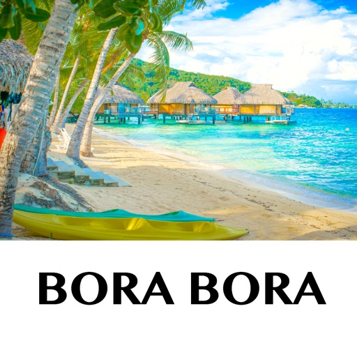 Bora Bora Holiday Offline Travel Map By Shine George
