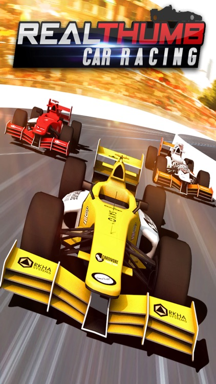 Thumb Car Racing- Real Formula Racing Car Games
