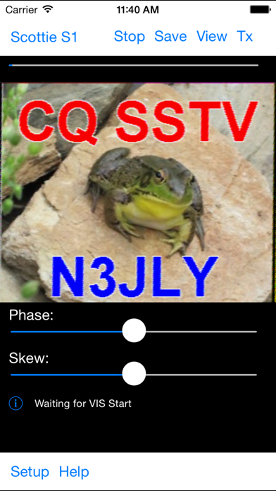 Sstv Slow Scan Tv review screenshots