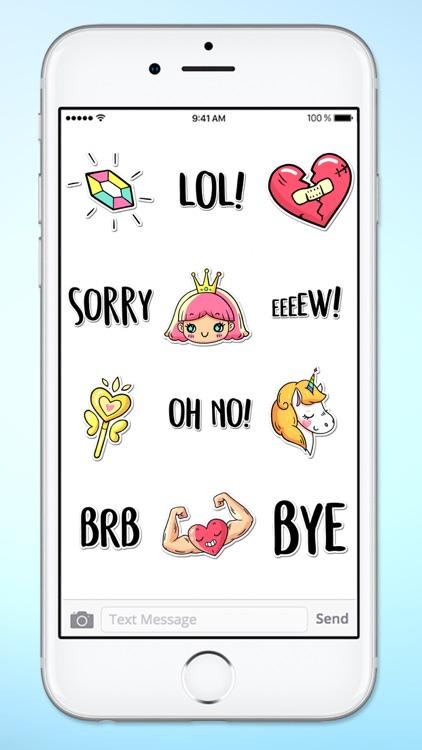Super Happy Fun Sticker Pack 2 screenshot-4