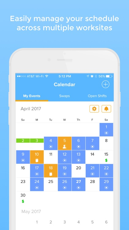 NurseGrid - calendar for nurses, by nurses screenshot-0