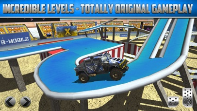 Screenshot from Monster Truck Parking Game Real Car Racing Games