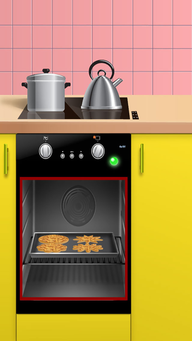 Cookie Creator - Kids Food & Cooking Salon Games screenshot four