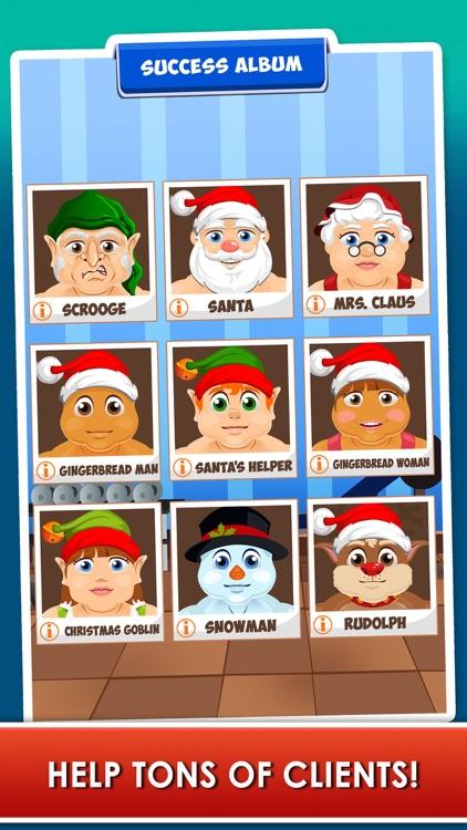 Santa Gets Fit for Christmas - Running Fat Games screenshot-3